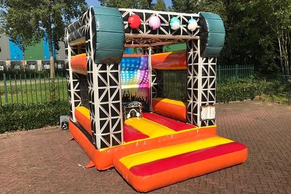Springkussen DJ Disco Apeldoorn